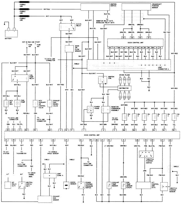 Nissan pathfinder electrical wiring schematics #3 | Nissan pickup truck, Nissan  pathfinder, Nissan trucksPinterest