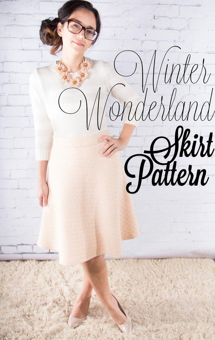 Die 17 besten Bilder zu DIY Skirts auf Pinterest | Blumen Maxiröcke ...