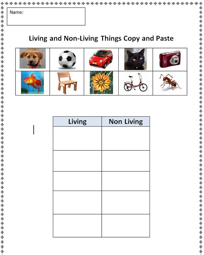 living things versus nonliving things Living and nonliving things things which can grow, move, breathe and reproduce are called living things living things can also feel emotions like anger, fe.