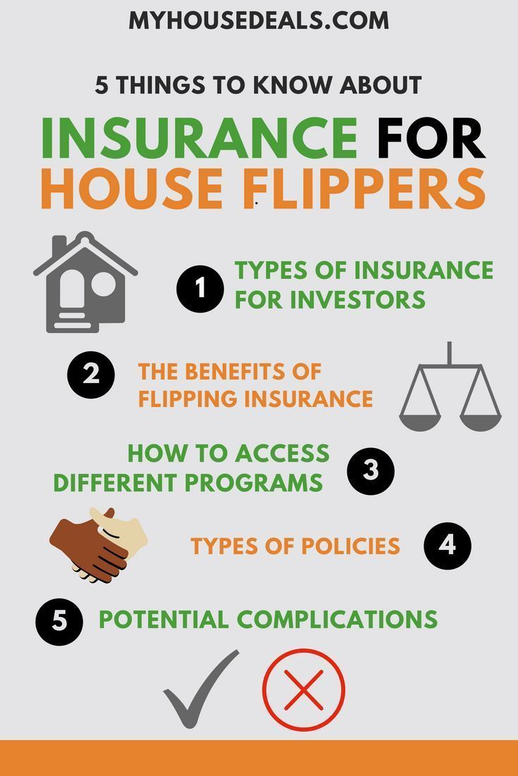 What House Flippers Need To Know About Insurance For Real Estate Investors House Flippers Real Estate Investor Home Insurance