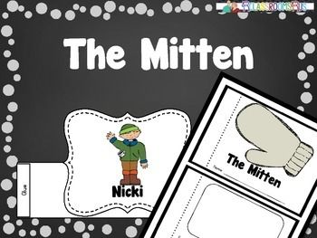 This Mitten package includes: -Headbands for all the characters in the story The Mitten by  Jann Brett. Students can color, cut, and use headbands to retell the story of The mitten.-A small booklet for students to use to retell the story, The Mitten, using retell words (e.g., first, next, then, after that, finally)-Examples pageTips:-Students can use the booklets they create to retell the story by reading it to a friend or class.-Students can use headbands to retell and reenact the story.If…