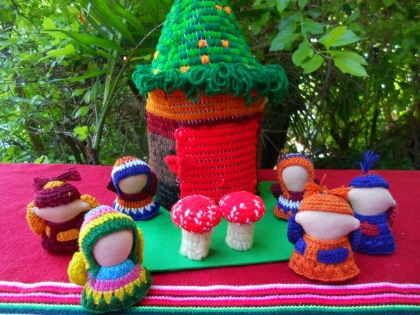 Fairies ,Toadstools and Playhouse - Fair Trade Imaginative Play