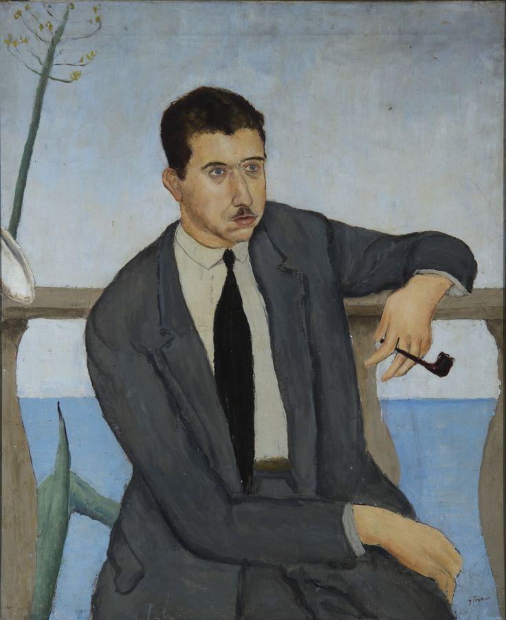 Guido Peyron, portrait of Eugenio Montale