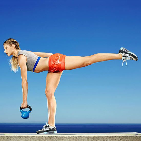 Slimmer in 7 Days: Rear Lunge to Dead Lift