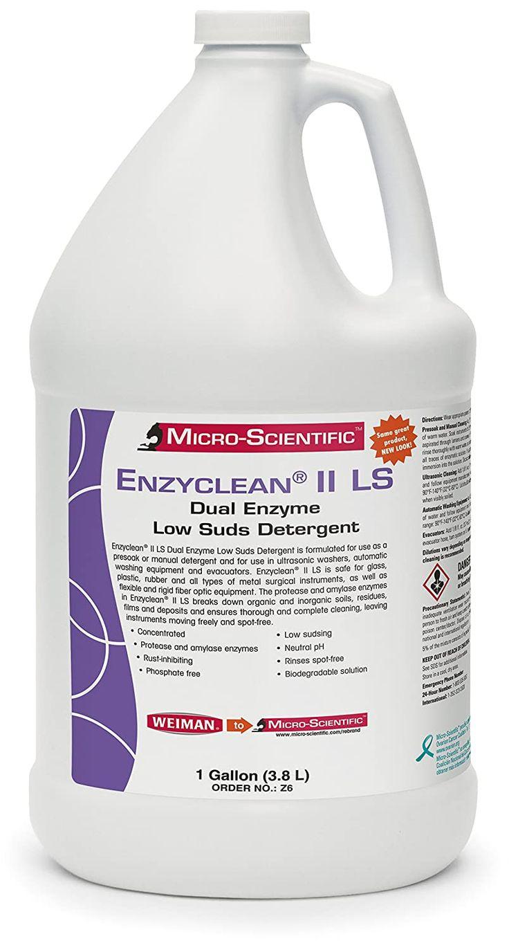 Micro Scientific Z6 Enzyclean Ii Ls Dual Enzyme Low Suds Detergent