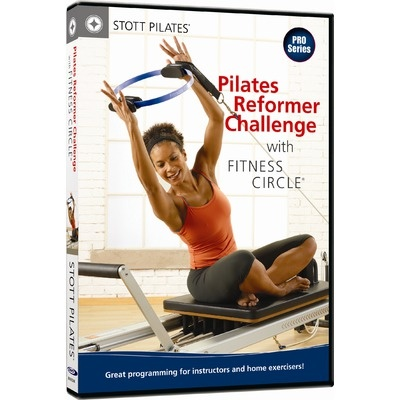Pilates Reformer Challenge with Fitness Circle | Stott Pilates.   This challenging DVD is worth every penny!