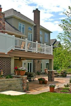 Best 20+ Two Story Deck Ideas On Pinterest | Two Story Deck Ideas, Stair  Slide And Second Story Deck