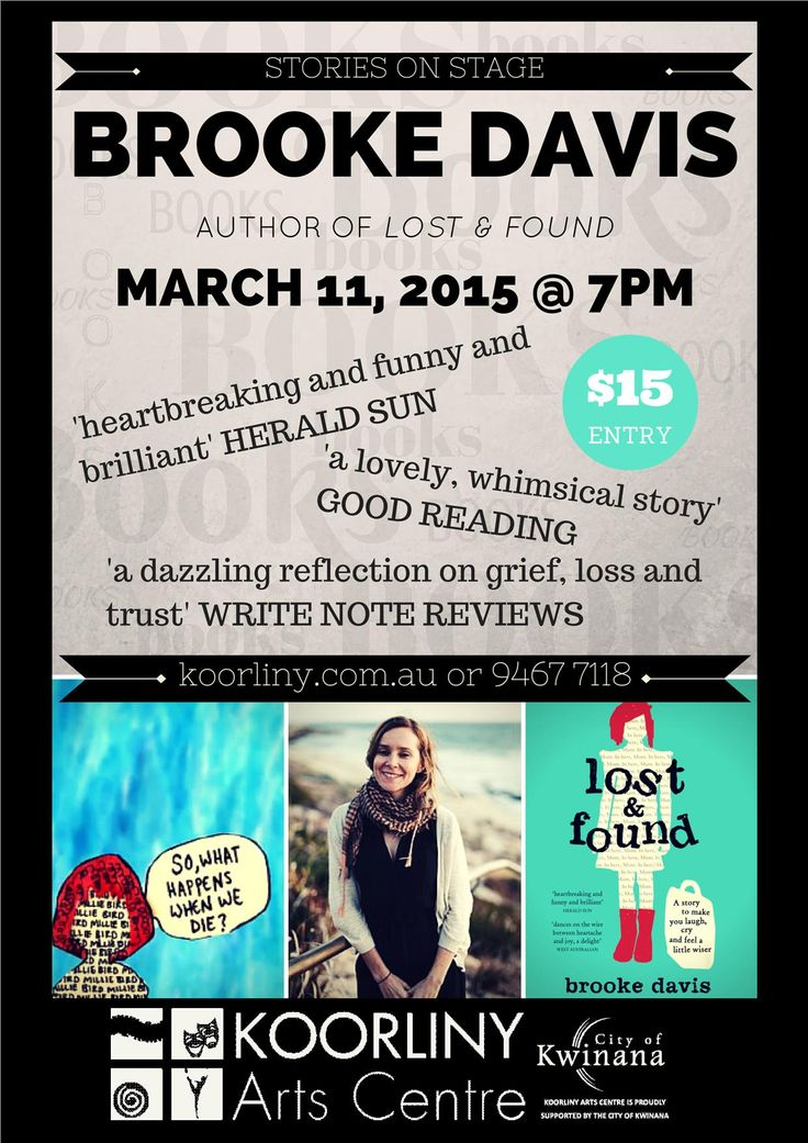 March 11: Stories on Stage with Brooke Davis