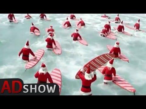Australian Christmas: Surfing Santas Song