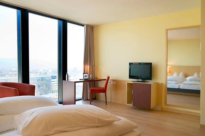 Deluxe - Zimmer Hyperion Hotel Basel - Offizielle Webseite