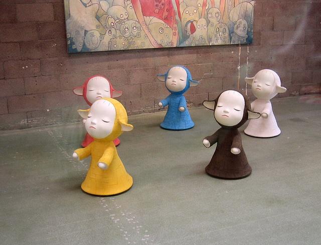 yoshitomo nara - the little pilgrims