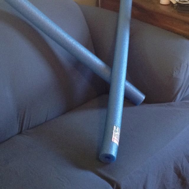 I did think of that! Using pool noodles to stop the slipcovers from constantly slipping!