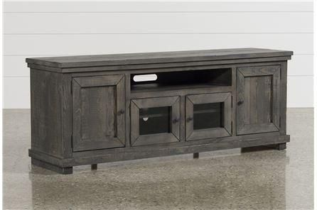 Sinclair Grey 64 Inch Tv Stand Living Room Shabby Chic