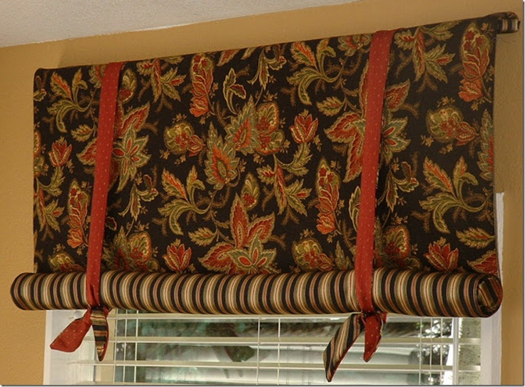 Stagecoach Shade Makes A Great Valance Window