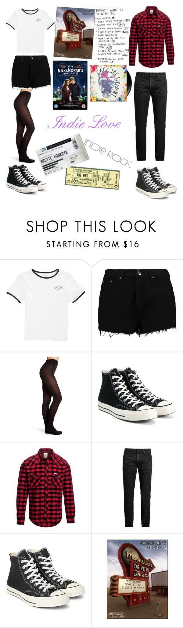 """""""Our Indie Love ⛅"""" by sweetheart-the-moonbear ❤ liked on Polyvore featuring Vans, Boohoo, Topshop, Converse, Topo Designs, MasterCraft Union and INDIE HAIR"""