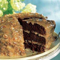 How to make easy and quick German Chocolate Cake Frosting