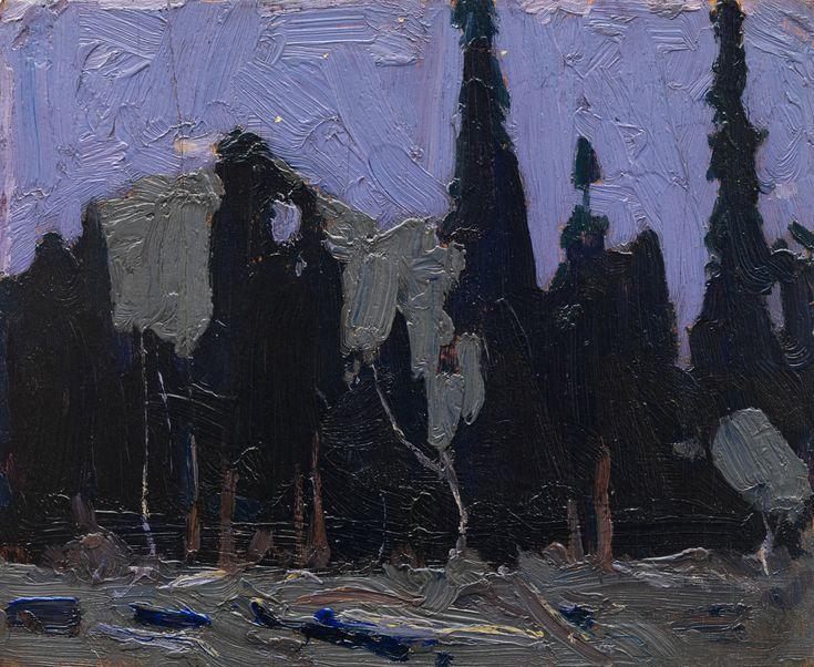 Tom Thomson Catalogue Raisonné | Nocturne, Fall 1915 (1915.126) | Catalogue entry