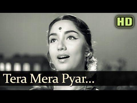 Tera Mera Pyar Amar - Dev Anand - Sadhana - Asli Naqli - Lata Mangeshkar - Evergreen Hindi Songs - YouTube