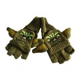 Star Wars Yoda Adult Mittens $22.99