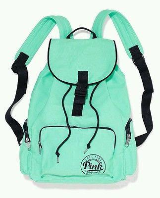 Victoria's Secret PINK Backpack 2015 Full Size Book Bag Tote NIP School