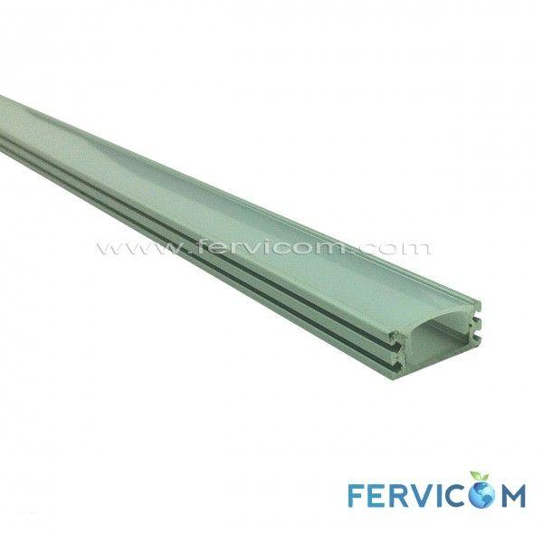 perfil aluminio, perfil aluminio para regleta led, perfil aluminio para cinta led, perfil aluminio 1707