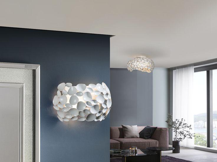 Aplique de pared blanco E14 Led Narisa 266753 de Schuller [266753] - 144,00€ :