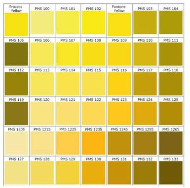 Hex code for yellow colour dress
