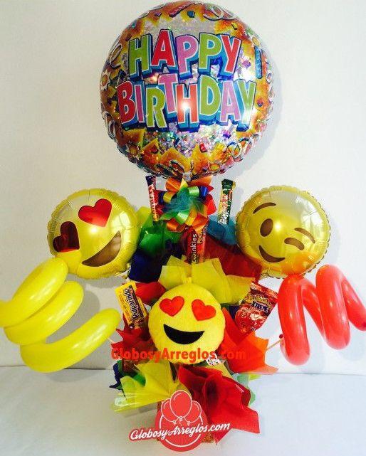 Arreglo de globos cumplea os morado regalo para ni o - Globos de cumpleanos ...