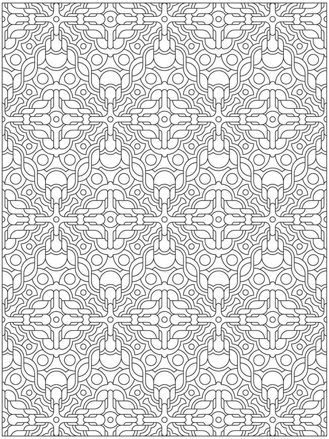 100 best coloriages mandalas rectangles images on Pinterest ...