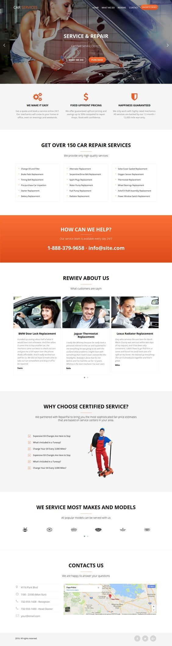 Car Service - Conversion Landing Page. Download: https://themeforest.net/item/car-services-responsive-landing-page/16544571?ref=skarin