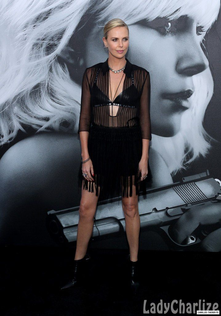 Steamy love scene: Charlize Theron, revealed on Thursday that filming her  lesbian love scene with Atomic Blonde co-star Sofia Boutella required good  ...