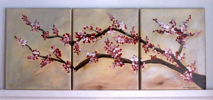 Cuadros de arboles de cerezo imagui plantas y jardines for Arboles con flores para jardin