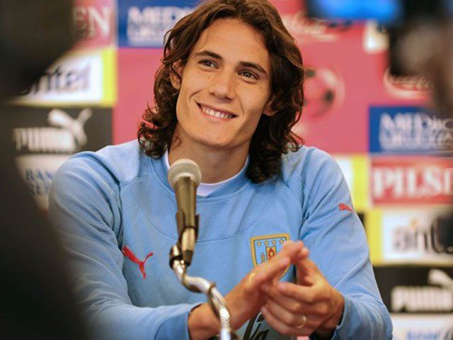 Image result for edinson cavani smile