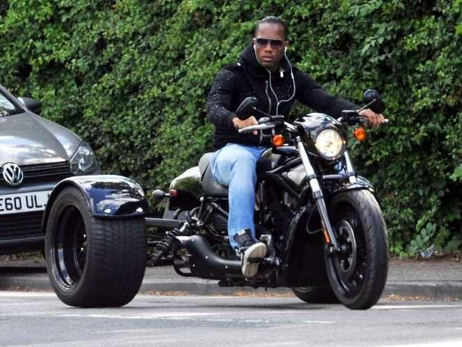 didier drogba's bike started life as a 120bhp, 1130cc harley
