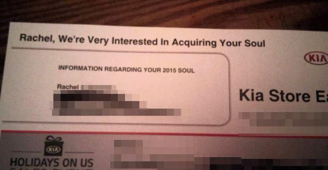Satan Inc. is using Direct Mail Now. Where is Dana Carvey's Church Lady.