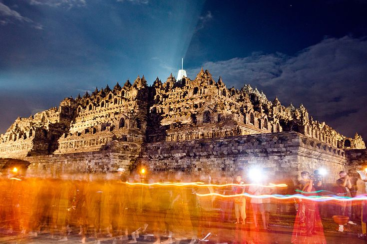 Borobudur Temple - Magelang, Indonesia | 11 Of The Oldest Buildings That Are Still Standing