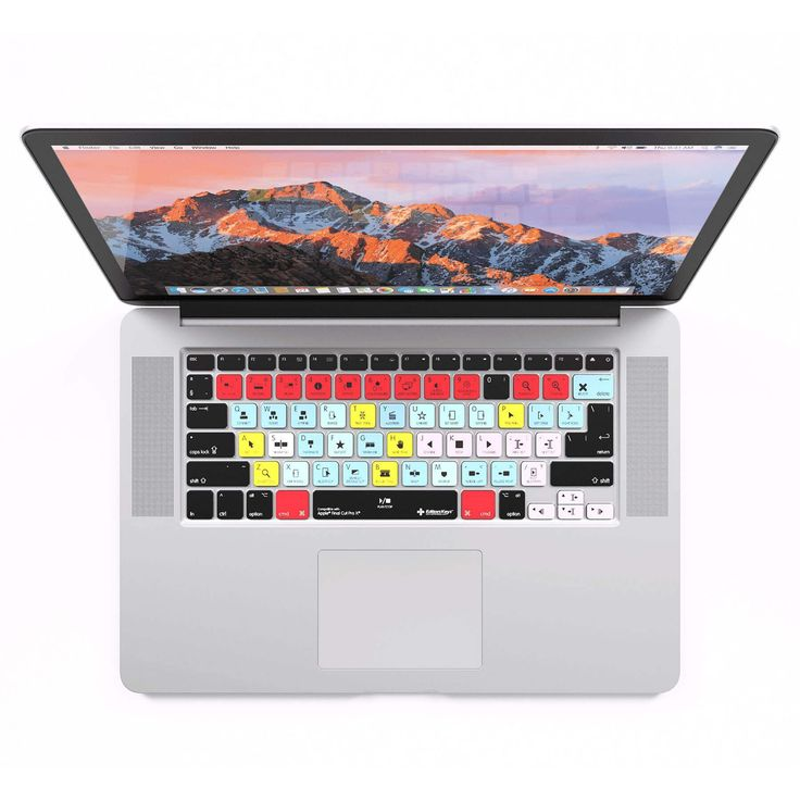 Apple FCPX MacBook Pro/Air Keyboard Cover