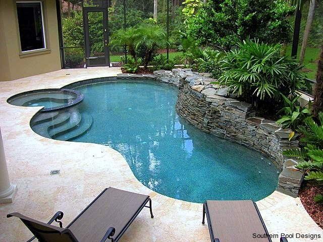 77 best Pool Designs images on Pinterest | Pool designs, Backyard ...