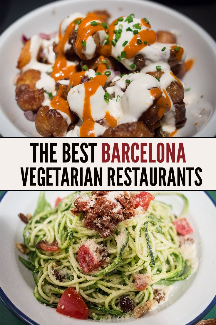 The best vegetarian restaurants in Barcelona, Spain including a guide to vegetarian Spanish tapas and the best meat-free restaurants.