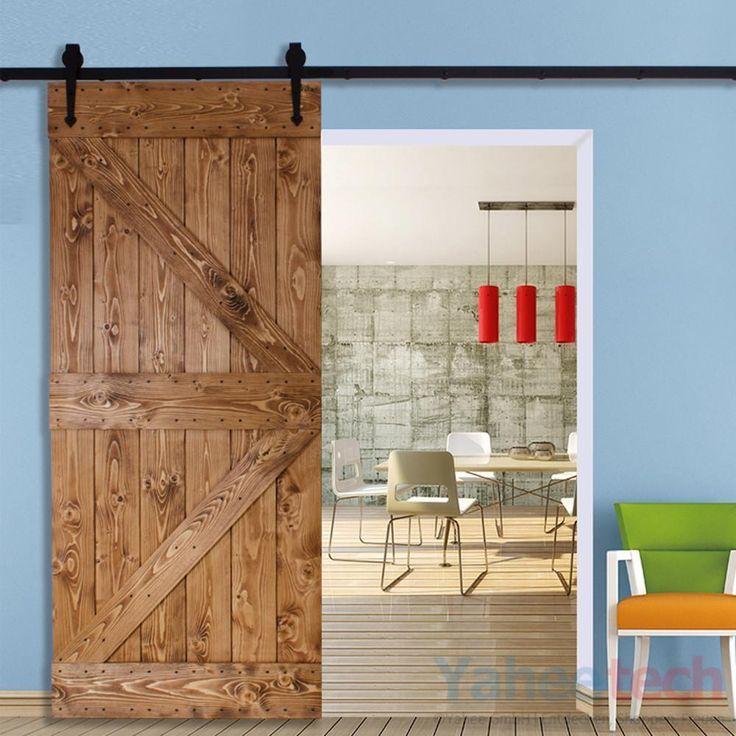 Schiebetürsystem Schiebetürbeschlag Laufschiene Schiebetür Montage-Set Beschlag in Heimwerker, Fenster, Türen & Treppen, Türen | eBay!
