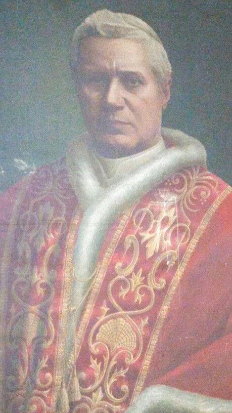San Pío X: uno de nuestros santos patronos.