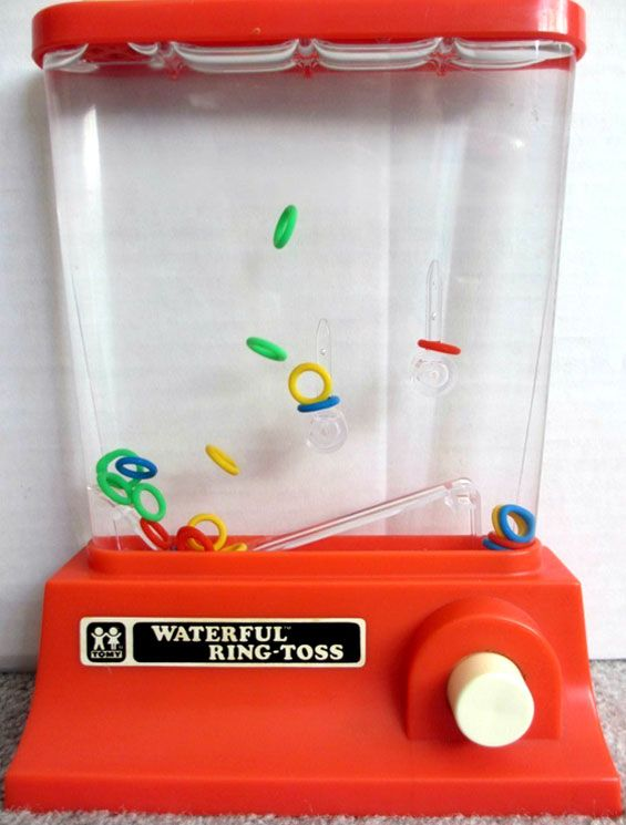 Fish Toy Game 70s : Waterful ring toss tomy toys stuff i grew up on