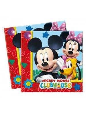 Mickey Mouse Peçete (20 adet)