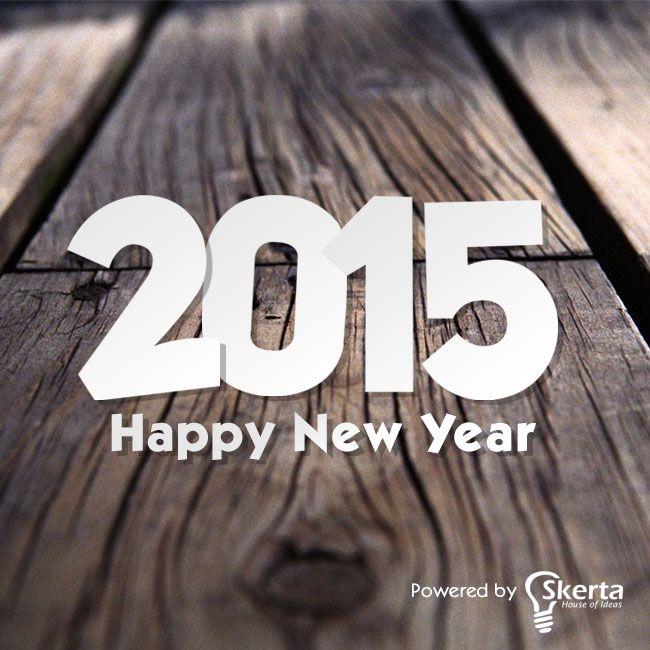 Happy New Year 2015 Mengawali Tahun 2015 dengan senyuman dan semangat baru