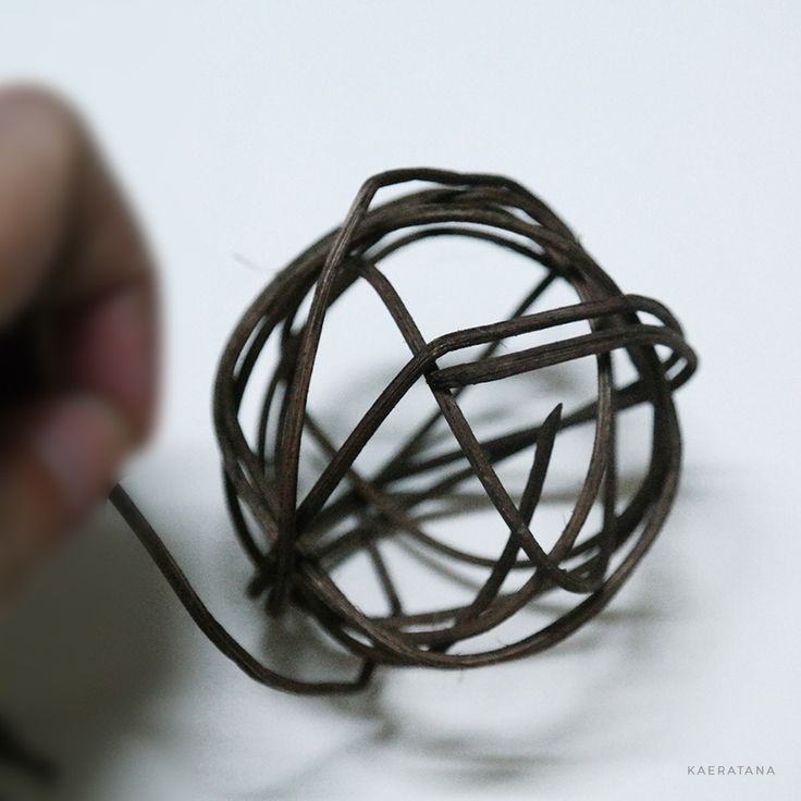 how to make twig balls