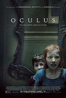 Oculus is a 2013 American psychological-supernatural horror film directed by Mike Flanagan. The film had its world premiere on September 5, 2013, at the 2013 Toronto International Film Festival (TIFF), and received a wide theatrical release on April 11, 2014. The film stars Karen Gillan as a young woman who is convinced that an antique mirror is responsible for the death and misfortune that her family suffered. The film is based upon an earlier short film by Flanagan, Oculus: Chapter 3 – The…