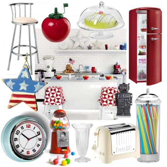 160 best images about american diners on pinterest for Funky kitchen accessories uk