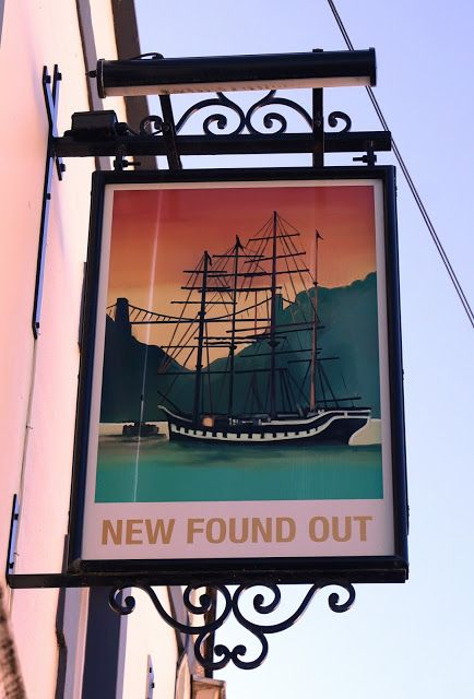 Pub Sign Art a la cARTe: The New Found Out - Bristol  #RePin by AT Social Media Marketing - Pinterest Marketing Specialists ATSocialMedia.co.uk