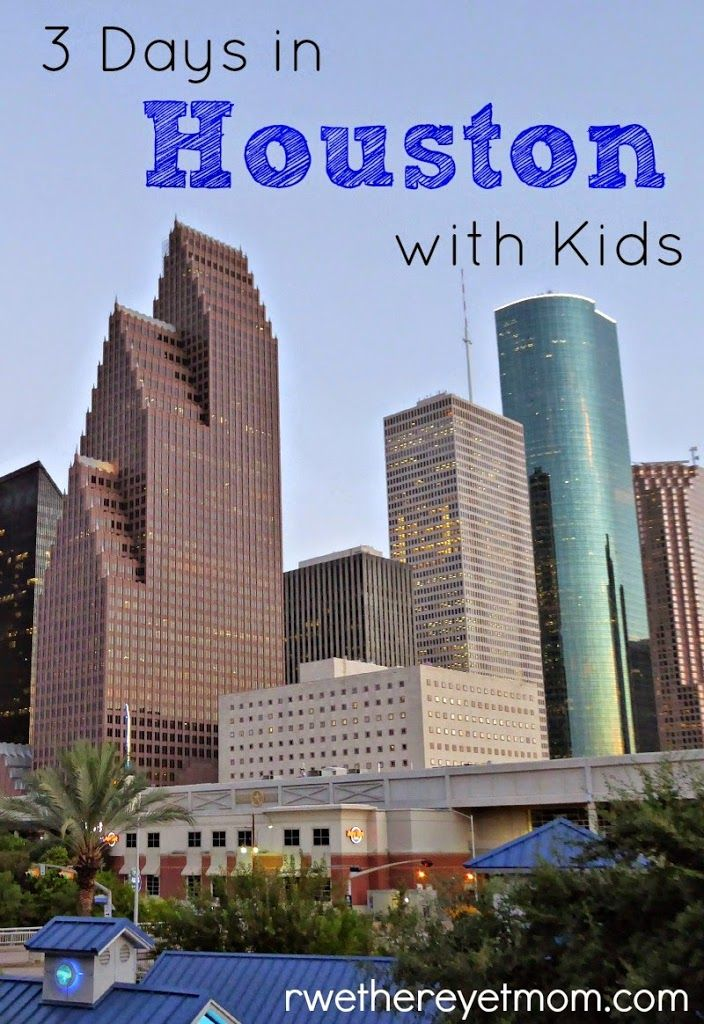 Houston is full of must-see things for kids, like Discovery Green, Space Center Houston, the Children's Museum of Science, and more!