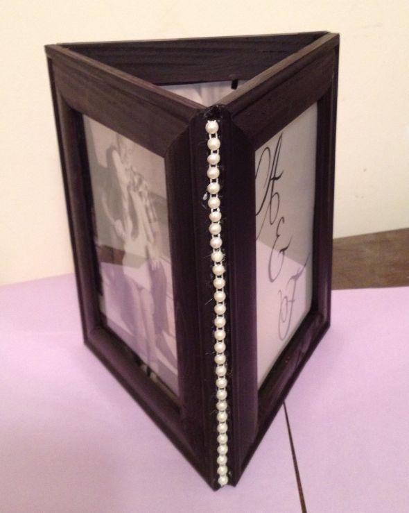 Diy photo centerpiece wedding centerpieces